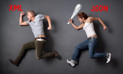 JSON versus XML - JSON web service php