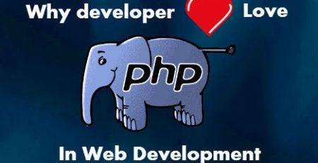 why developer love php in web development