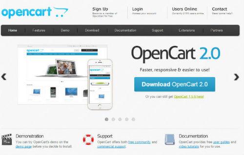 OpenCart - Best Free Online Shopping Cart Software