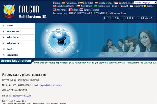 Falconjobs - Job Recruitment Portal Development India