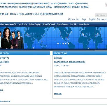 job web portal development india