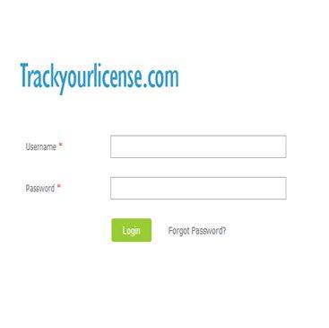 trackyourlicense