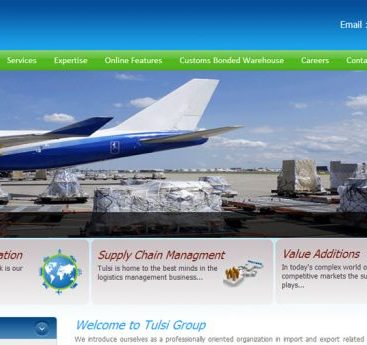 warehouse management system tulsi impex web design