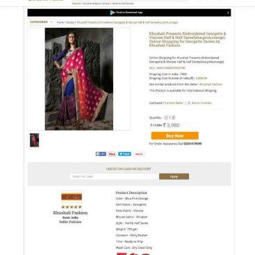 crafts ecommerce web development mumbai