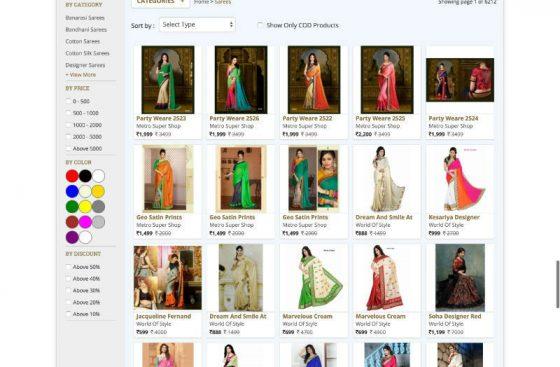 mumbai handicrafts ecommerce design