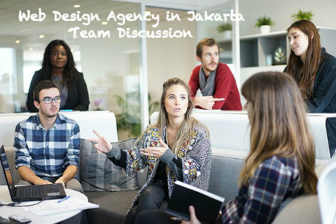 Team Discussion - Web Design Agency in Jakarta