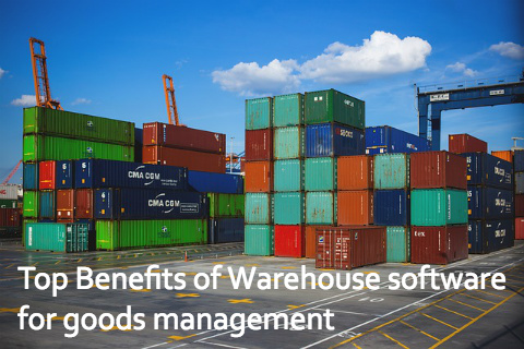 Top Benefits of Warehouse software for goods management