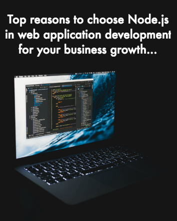 Node.js Web Application Development Company in India