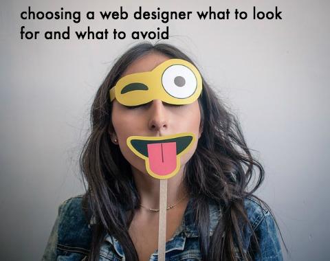 tips for hiring a web designer