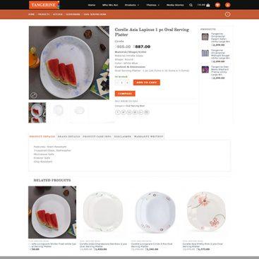 Custom Redesign eCommerce in Yii2 Framework