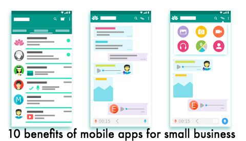 10 benefits of mobile apps for small business