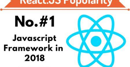 React.js Popularity in 2018