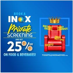 Private Screening At INOX