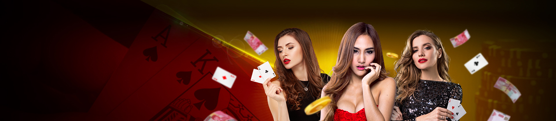 Banner Page Game Poker