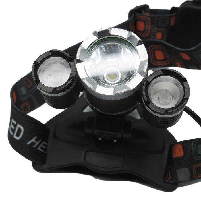 Headlamp Cree XM-L T6 5000 Lumens Senter Kepala Laut camping Mancing