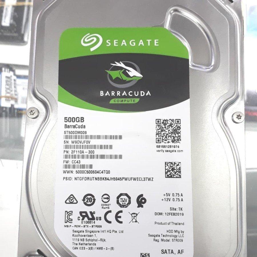 Harddisk HDD Internal PC 500Gb Sata SEAGATE