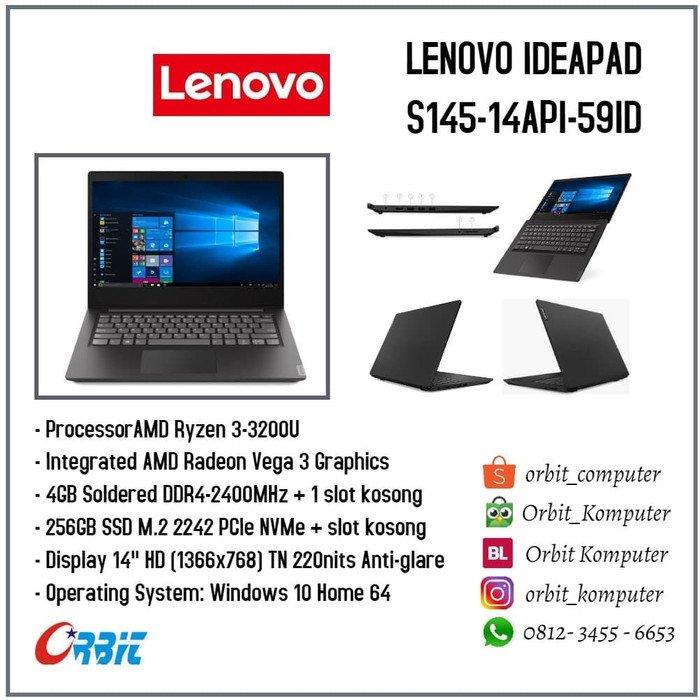 Lenovo IdeaPad S145-14IGM-4TID Intel Celeron N4000 RAM 4GB SSD 256GB