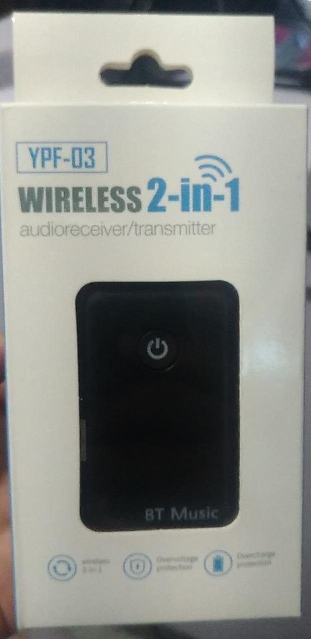 Wireless 2in1 HiFi Audio Bluetooth Transmiter & Receiver 3,5mm