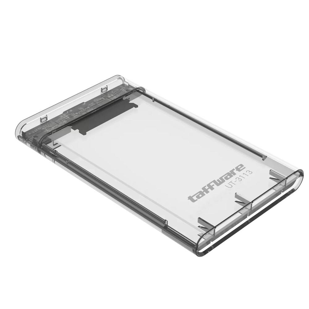 EXTERNAL CASE HDD 2.5″ SATA CASING TRANSPARAN USB 3.0