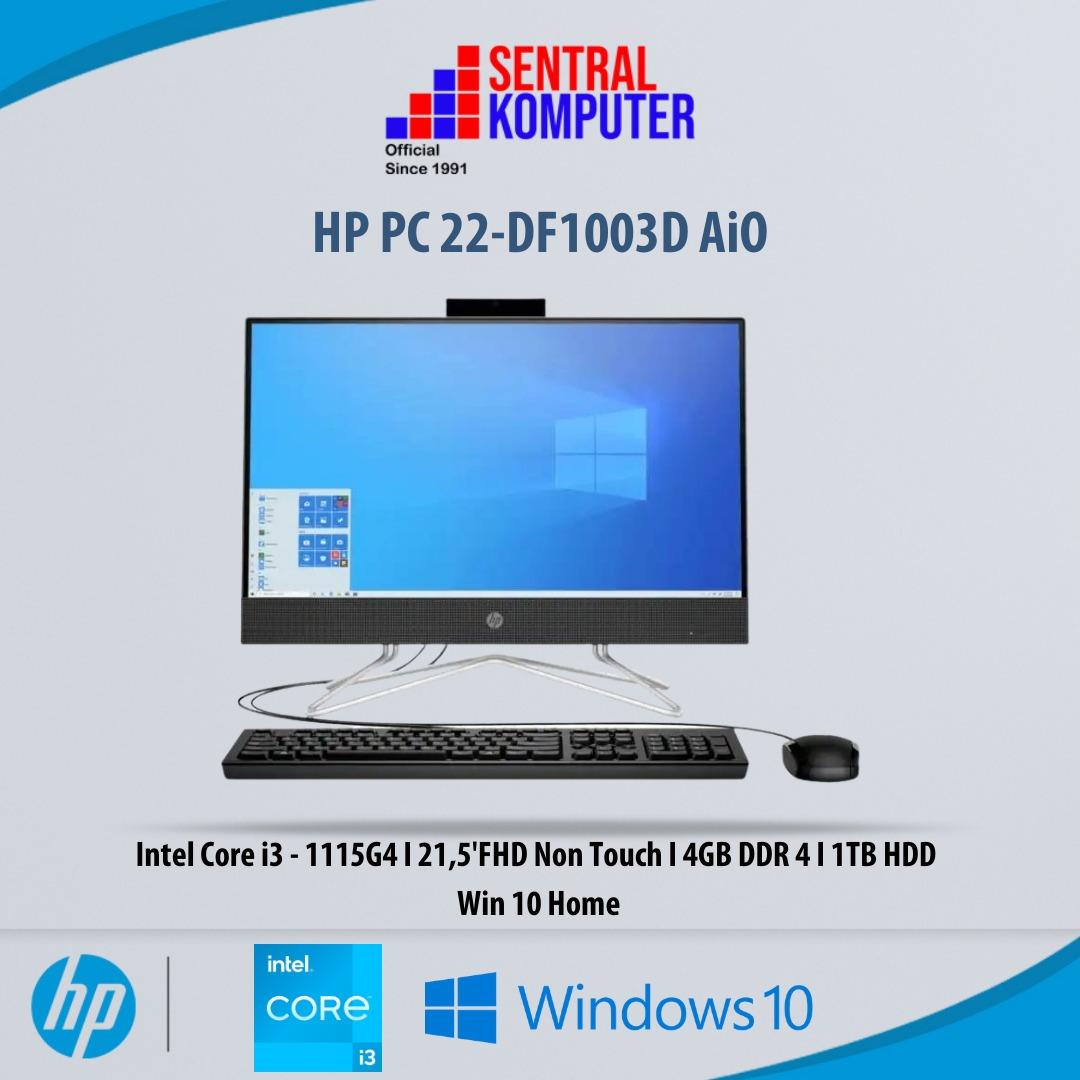 HP All-in-One 200 G3 [SECOND] Intel Core i3-8130U 4GB 1TB HDD 21,5″