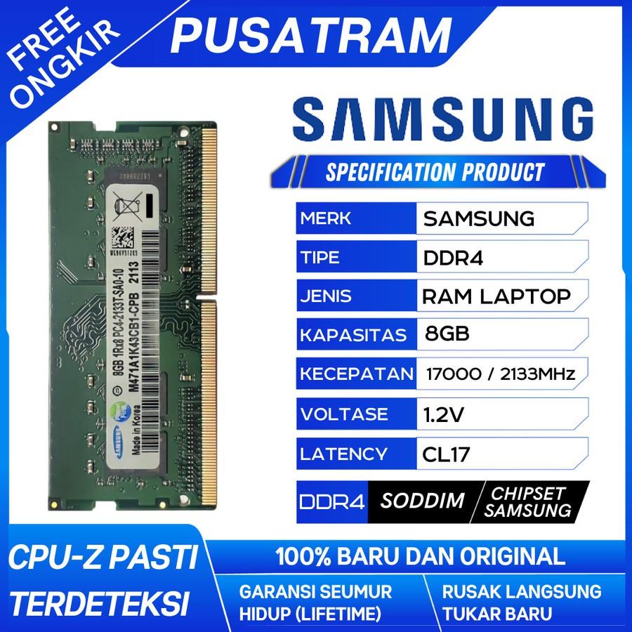 RAM LAPTOP KINGSTON DDR4 4GB 2133 MHz 17000 ORI GAMING RAM NB DDR4 4GB