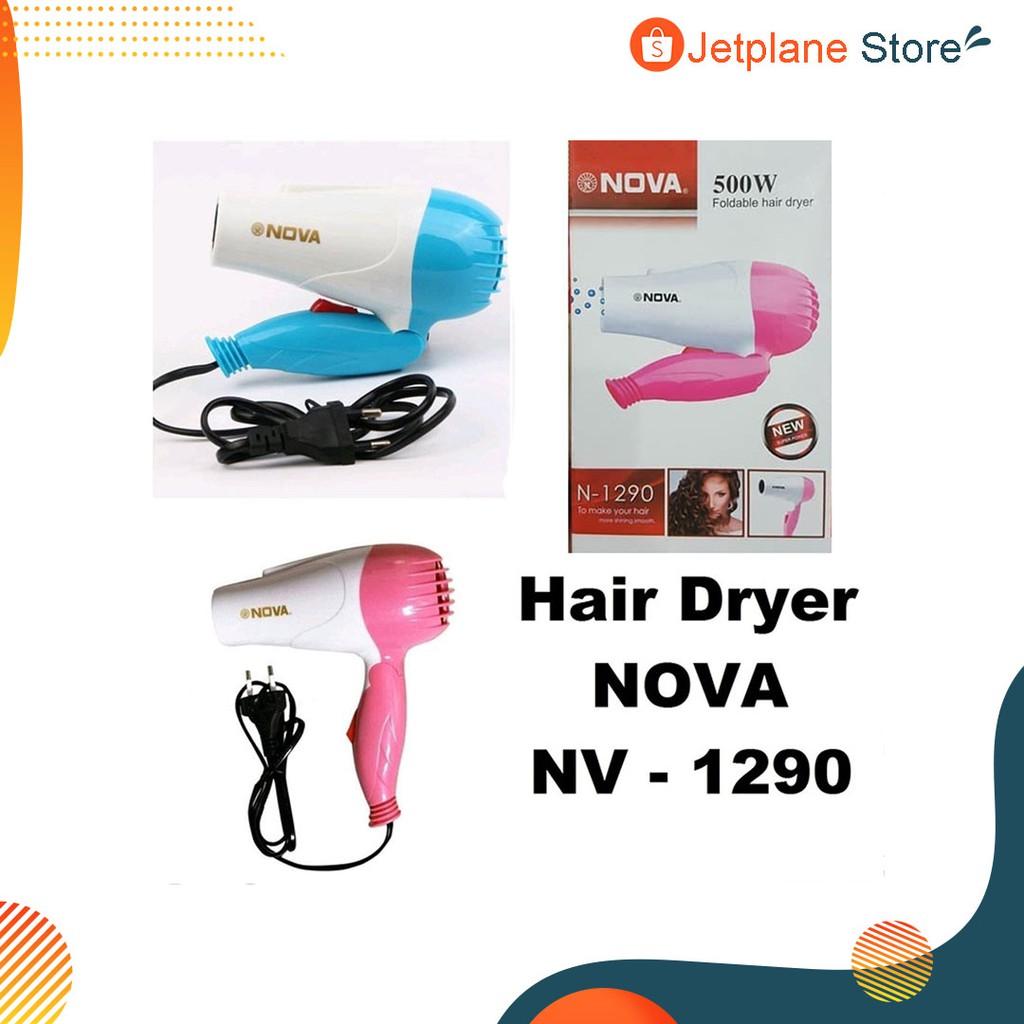 NOVA Hair Driyer Lipat / Pengering Rambut NOVA N-1290 Hairdryer