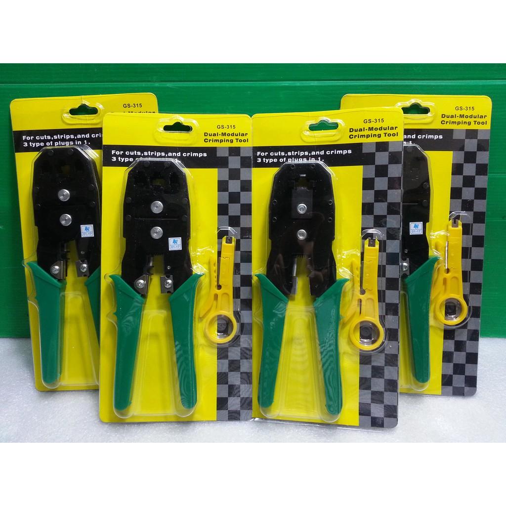 Tang / Crimping Tools RJ45 + Kabel Lan Tester