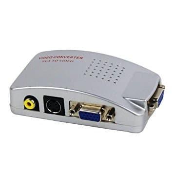 Konverter VGA to RCA / AV Video Support High Resolution