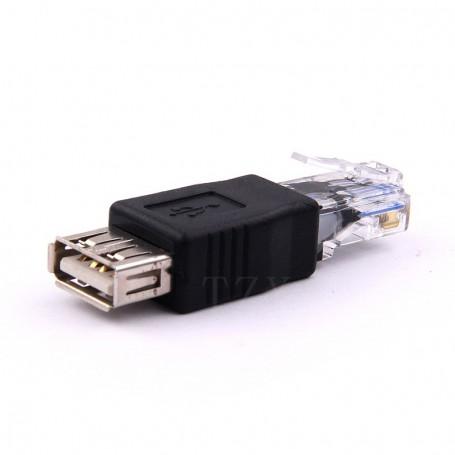 USB TO LAN USB KE LAN Adapter Converter LAN Ethernet RJ45 Male Ke USB