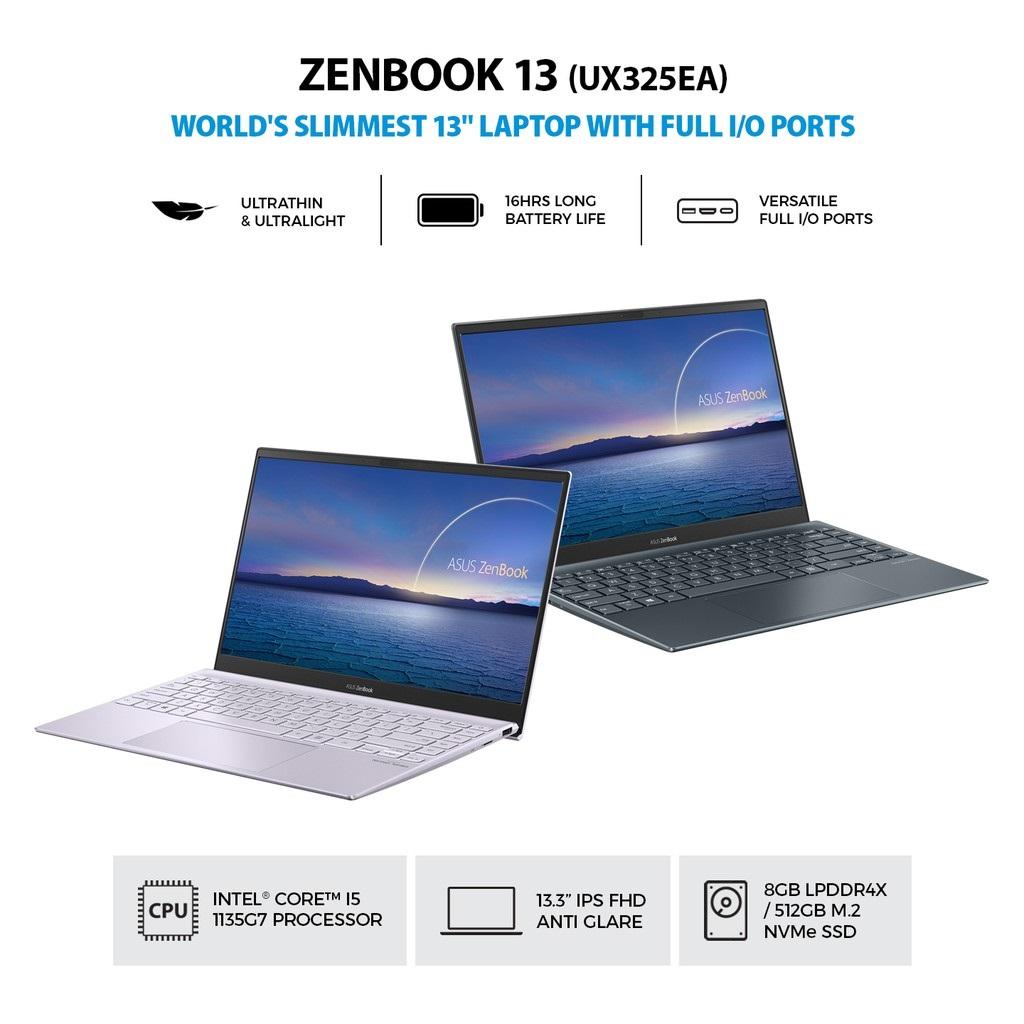 Asus Zenbook 13 UX325EA-EG552TS Intel Core i5-1135G7 8GB 512GB IrisXe