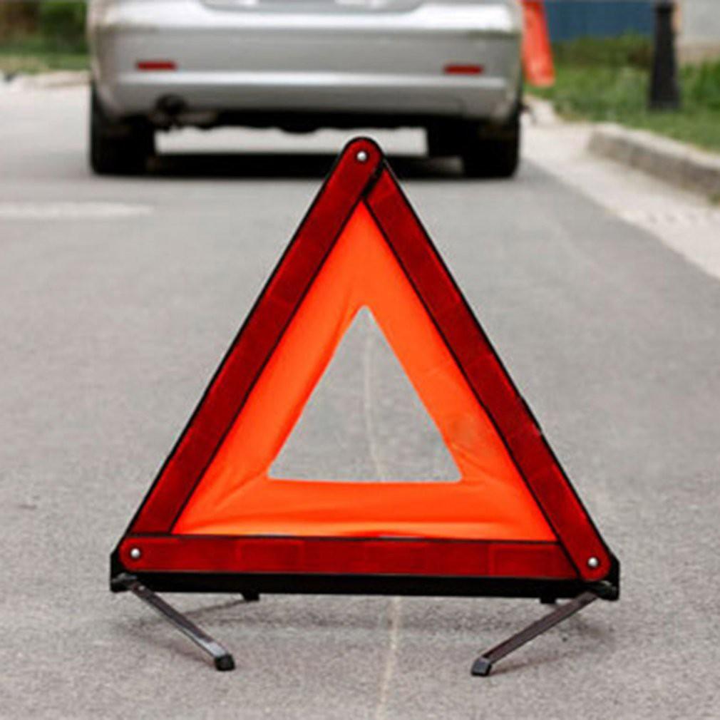 Segitiga Pengaman Car Reflector Emergency Triangle Warning Sign IZY