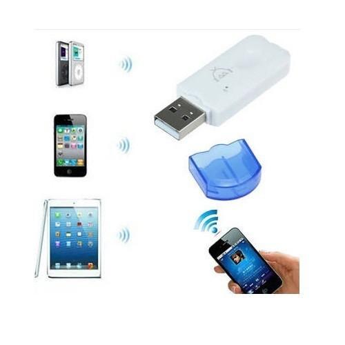 USB Wireless Bluetooth Receiver Audio Dongle tanpa kabel AUX CK-06
