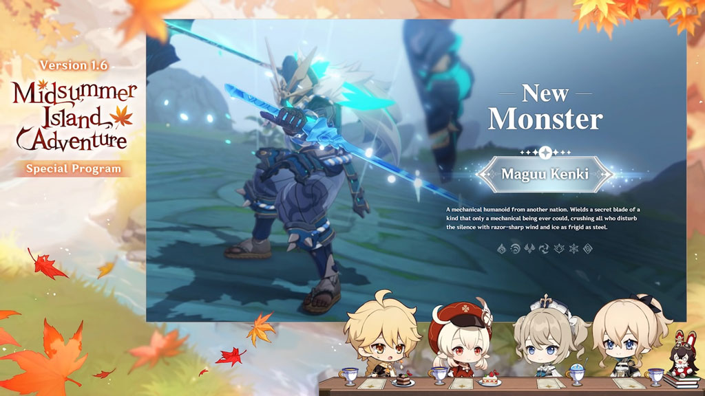 Genshin Impact 1.6 New Monster