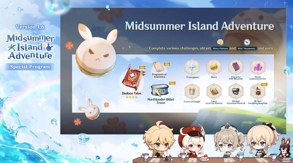 Genshin Impact Midsummer Island