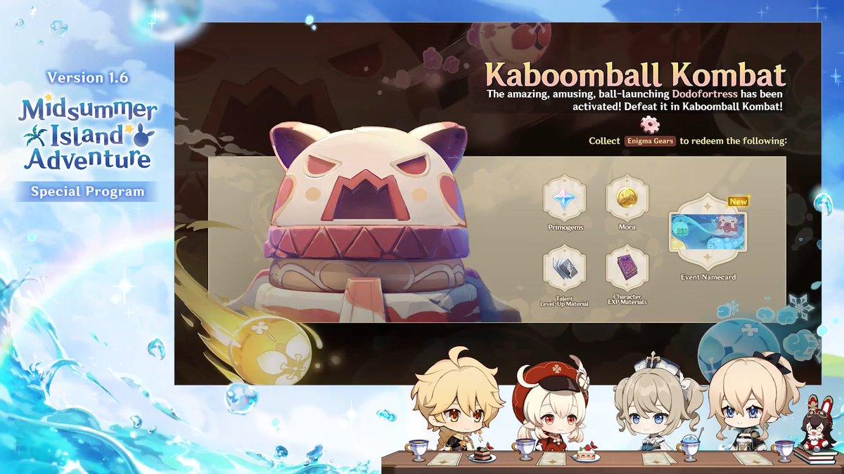 Genshin Impact Kaboomball Kombat