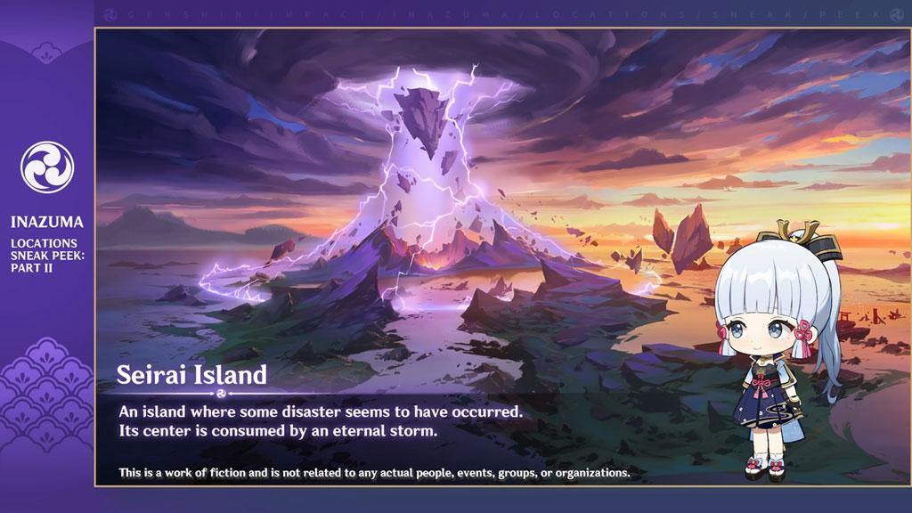 Genshin Impact 1.6 Seirai Island