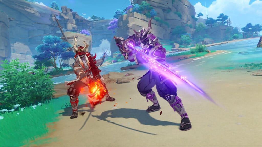 genshin-impact-2.0 Boss inazuma