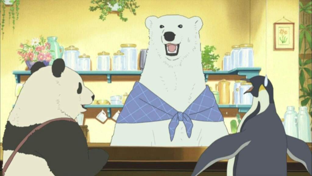 Polar Bear's Cafe in Crunchyroll