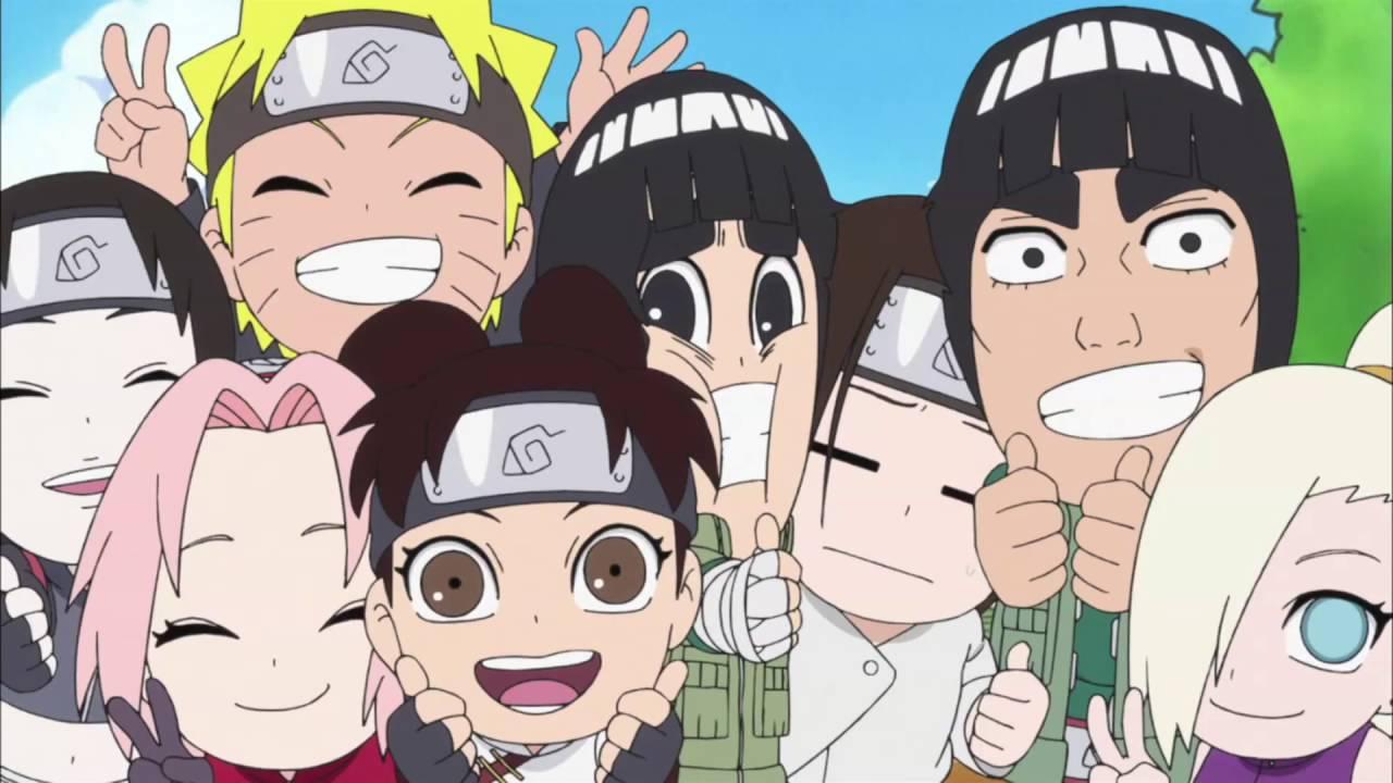 Naruto Spin-Off: Rock Lee & His Ninja Pals Crunchyroll