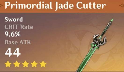 Genshin Impact Primordial Jade Cutter