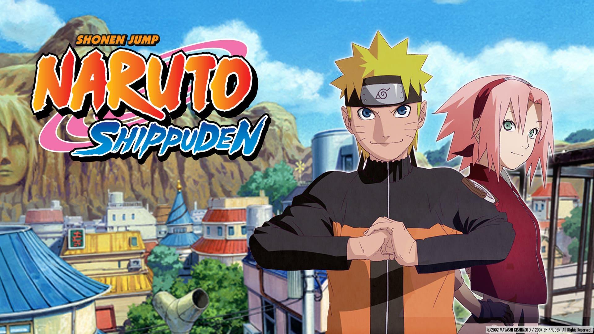 Naruto Shippuden in crunchyroll