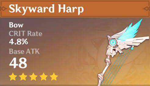 Genshin Impact - Skyward Harp
