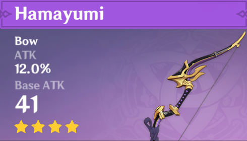 Genshin Impact - Hamayumi