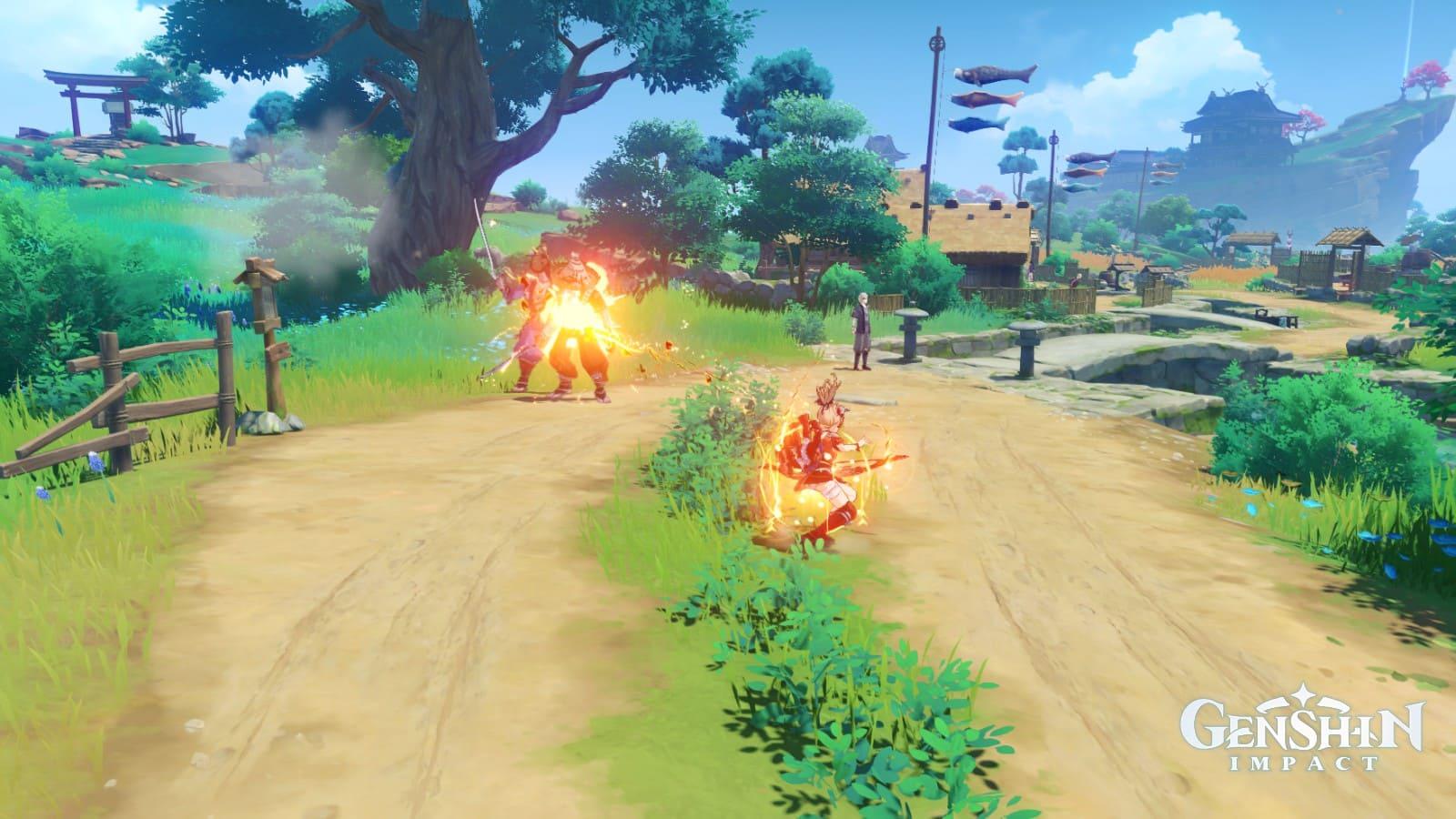 Genshin Impact - Yoimiya Skill E 2
