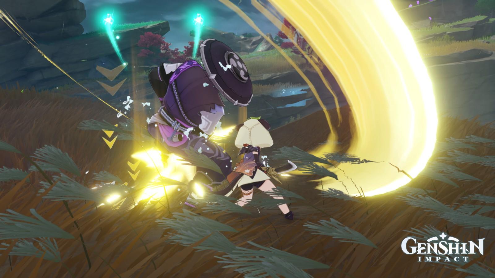 Genshin Impact - Sayu Normal ATK 01