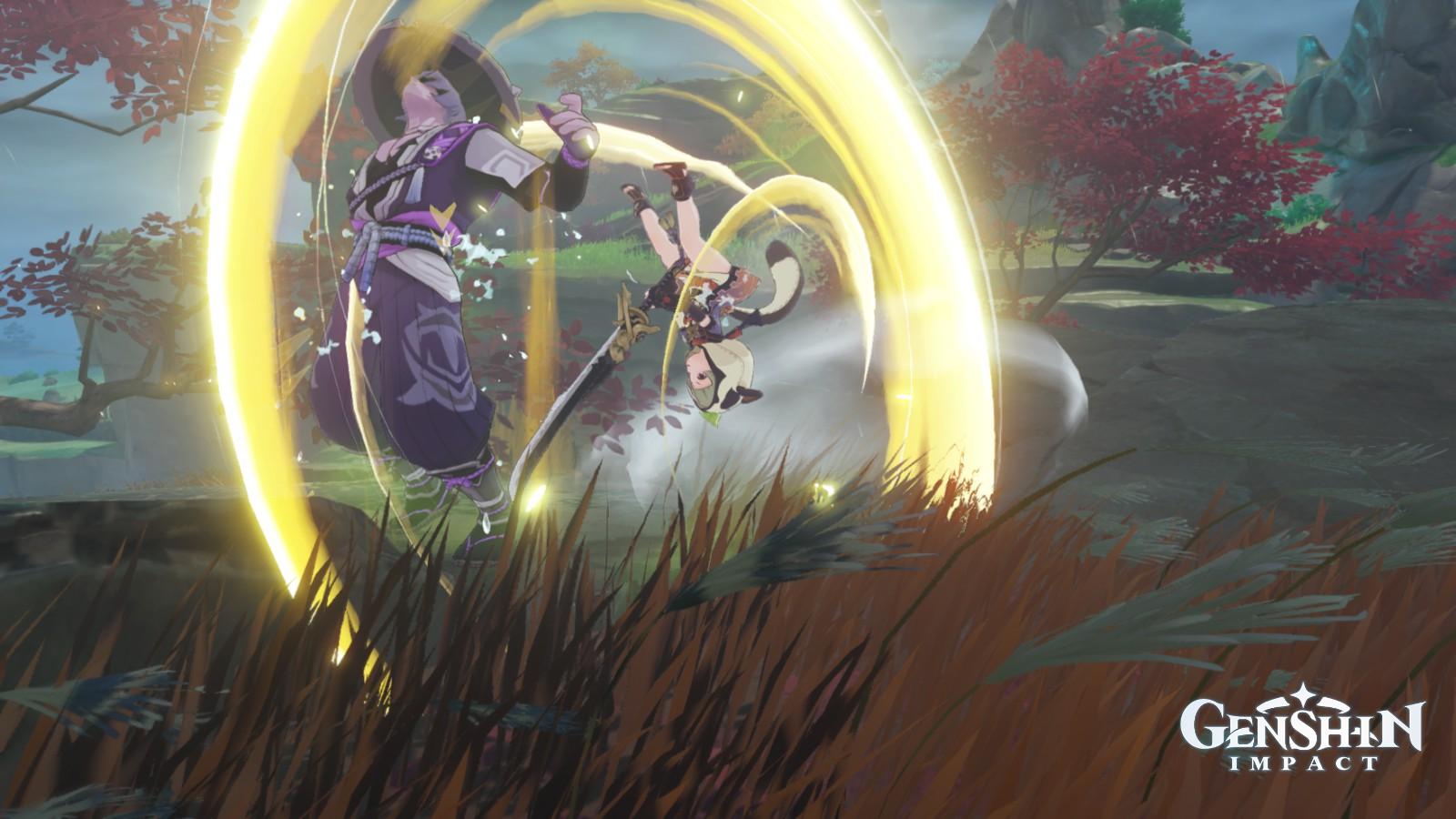 Genshin Impact - Sayu Normal ATK 02