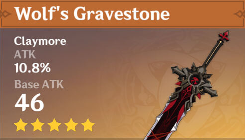 Genshin Impact - Wolf's Gravestone