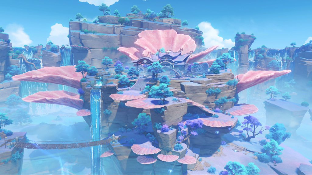 Genshin Impact 2.1 - Inazuma New map 2