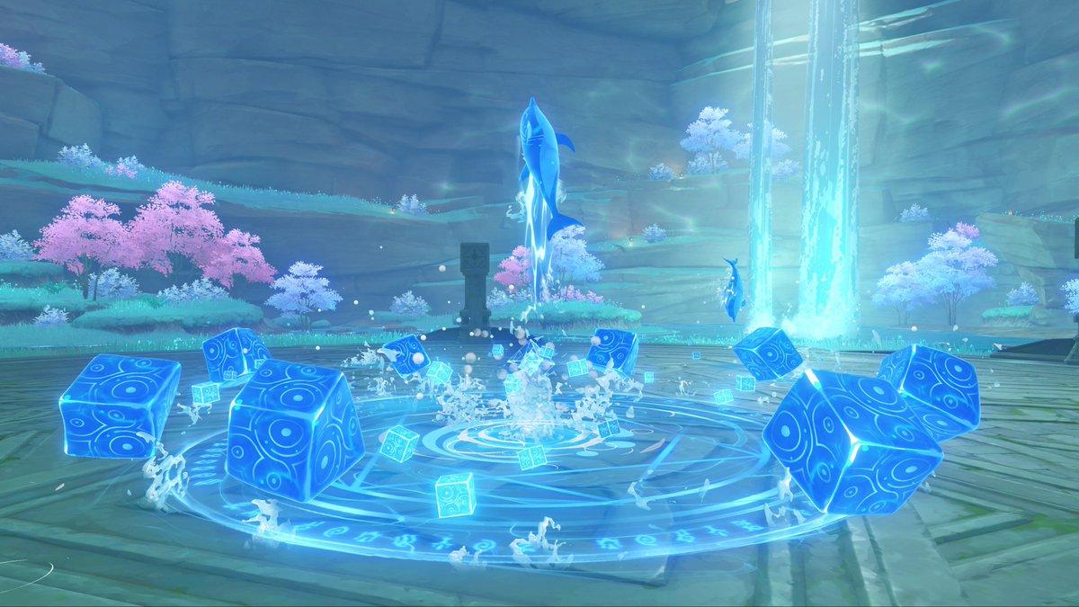 Genshin Impact 2.1 - Boss Hydro Hypostasis