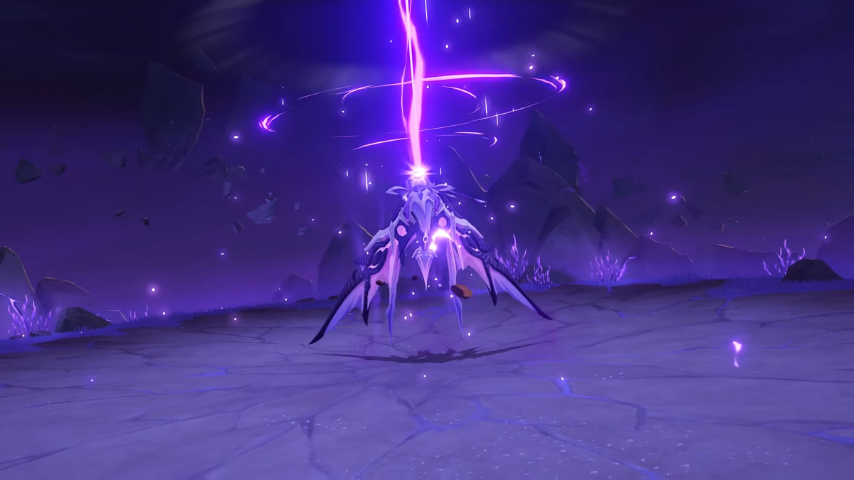 Genshin Impact 2.1 - Boss Electro Oceanid